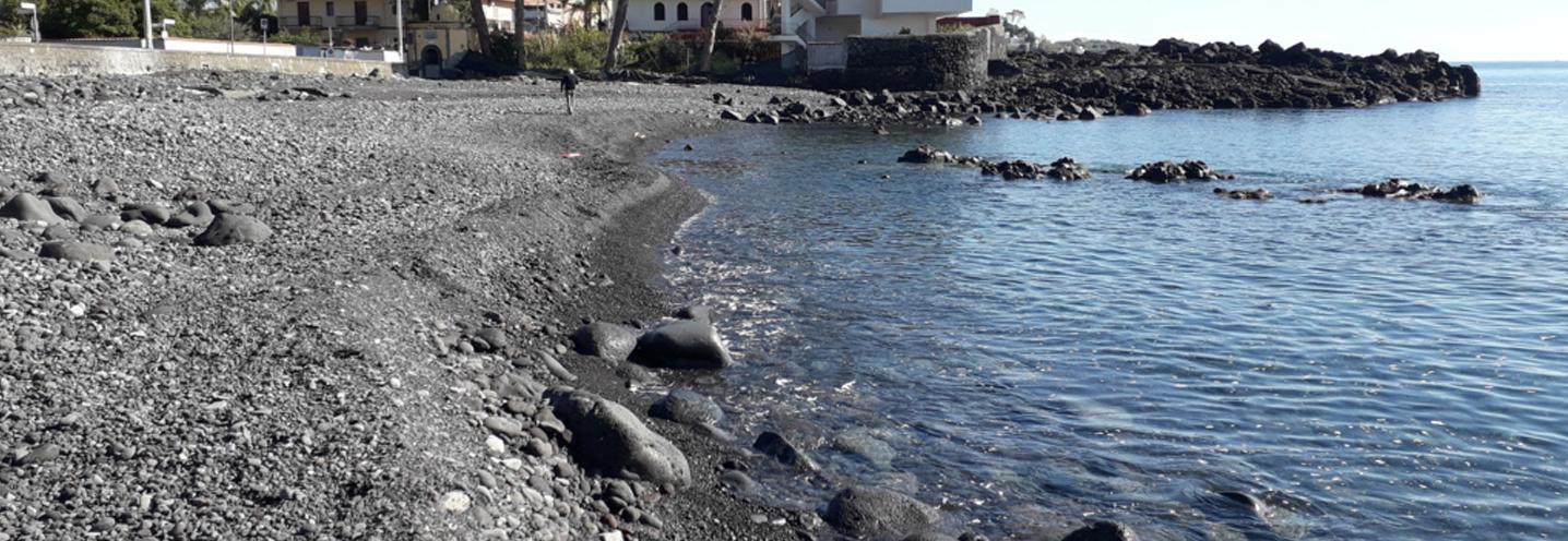 ACIREALE – Santa Tecla – Settore settentrionale della pocket beach