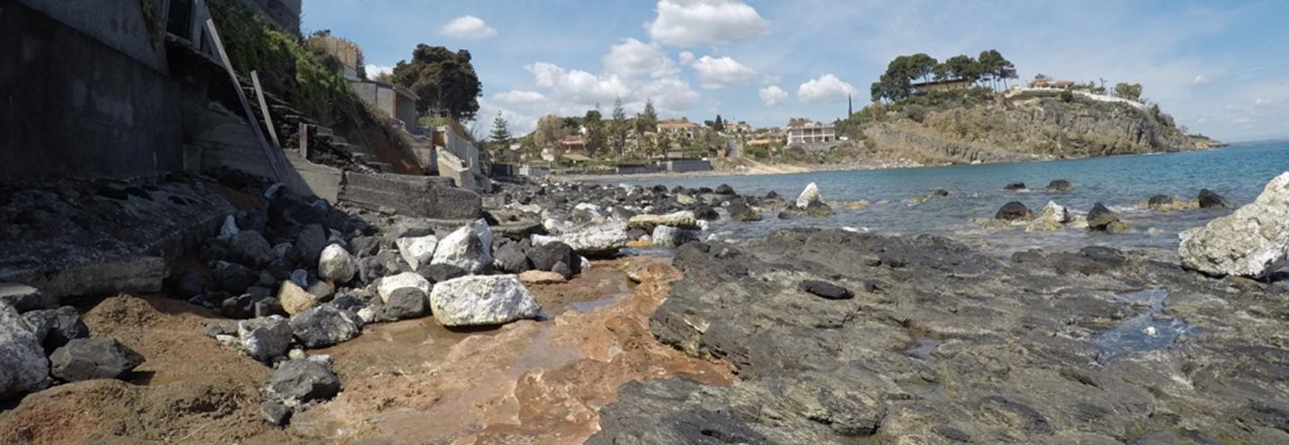 AUGUSTA – Saracena sud – Affioramento roccioso