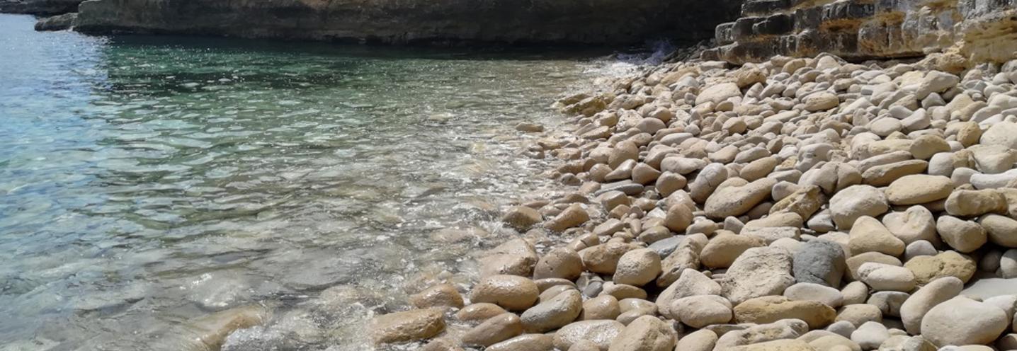 AVOLA – Caponegro – La battigia ciottolosa lato meridionale