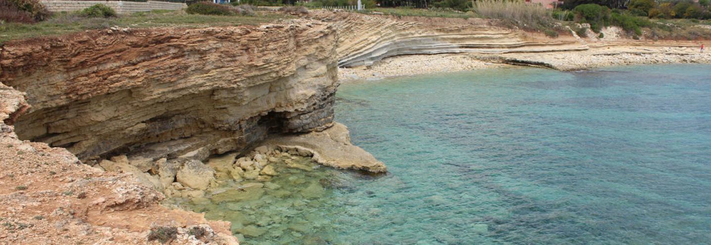 AVOLA – Caponegro – La pocket beach vista da SO