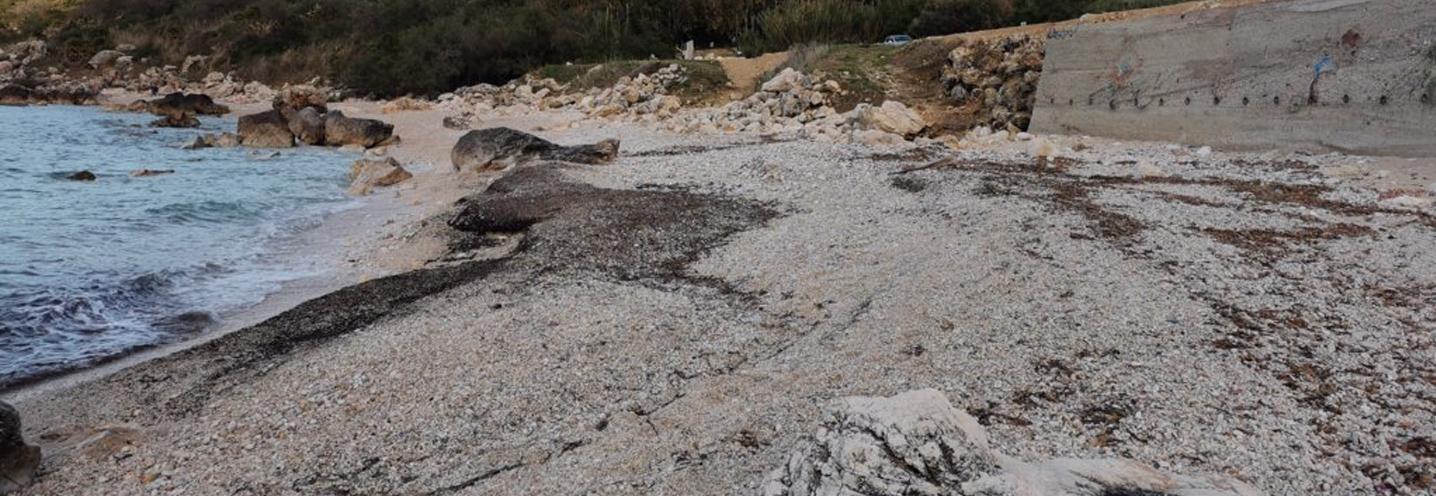 CASTELLAMMARE DEL GOLFO – Calamazzo est – La spiaggia