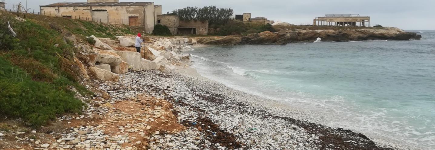 ERICE – Pizzolungo ovest – Spiaggia e promontorio sud-occidentale