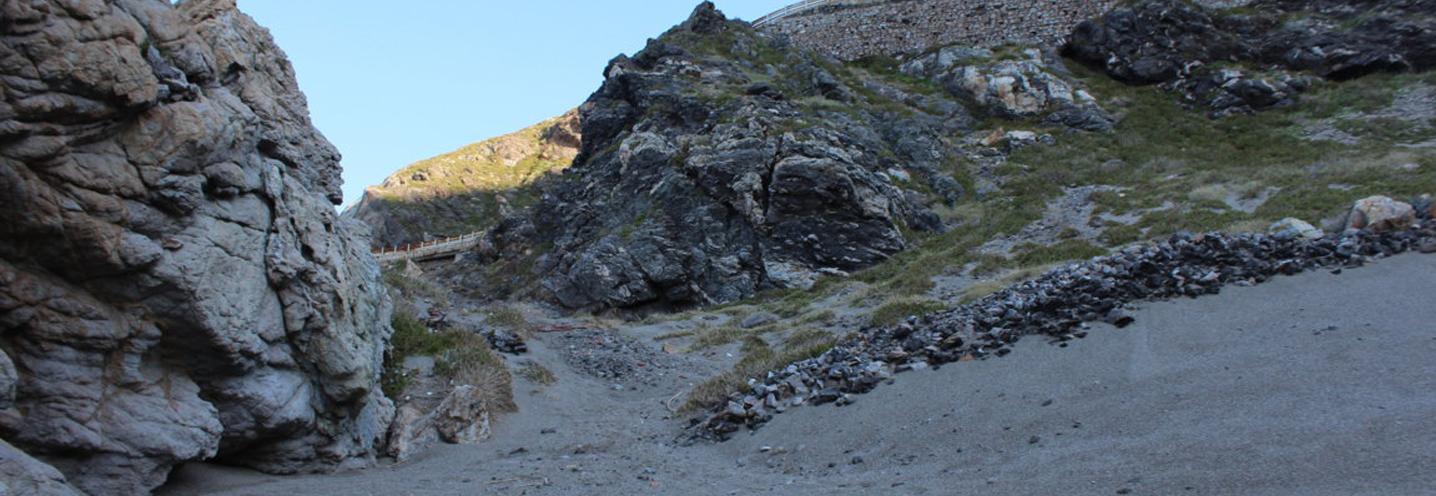 GIOIOSA MAREA – Capo Calavà est – La scarpata dissestata