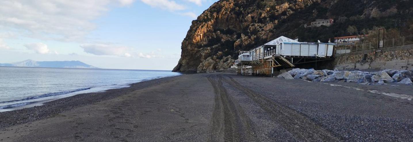 GIOIOSA MAREA – Capo Calavà ovest – La pocket beach al tramonto