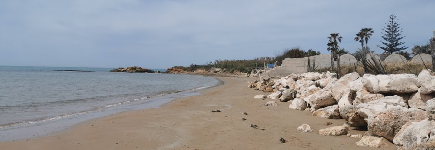 ISPICA – Porto Ulisse ovest – Settore occidentale della pocket beach