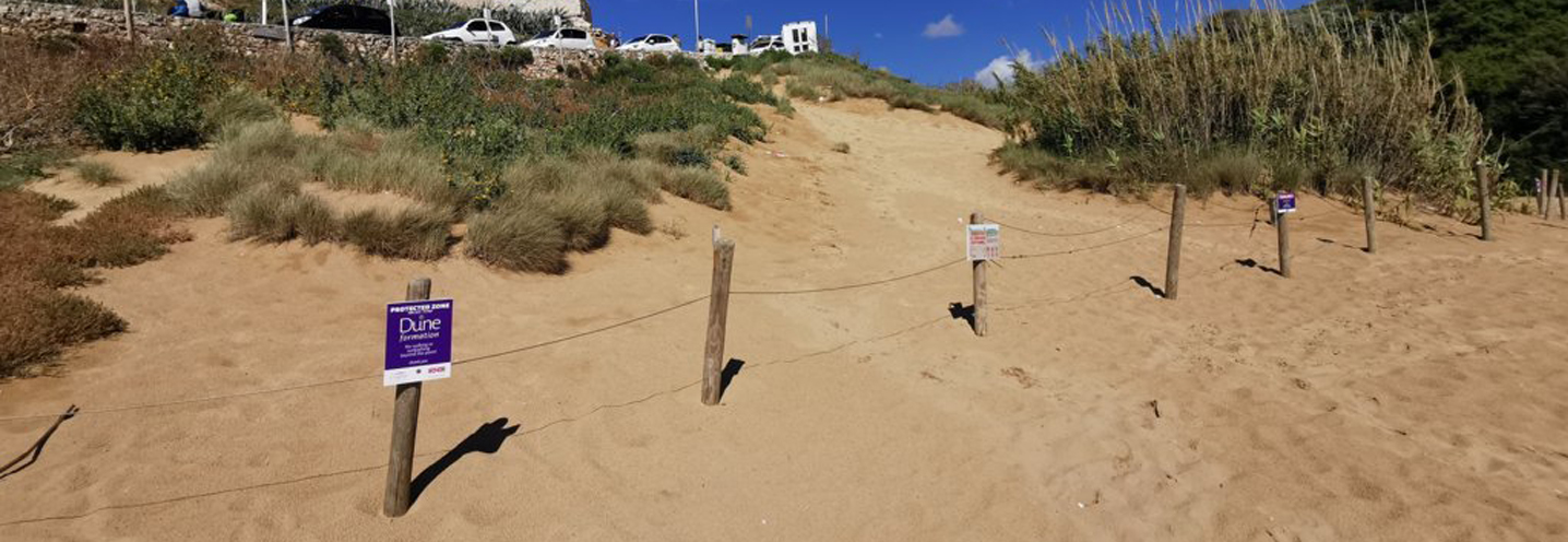 MELLIEHA – GOLDEN BAY – Le dune