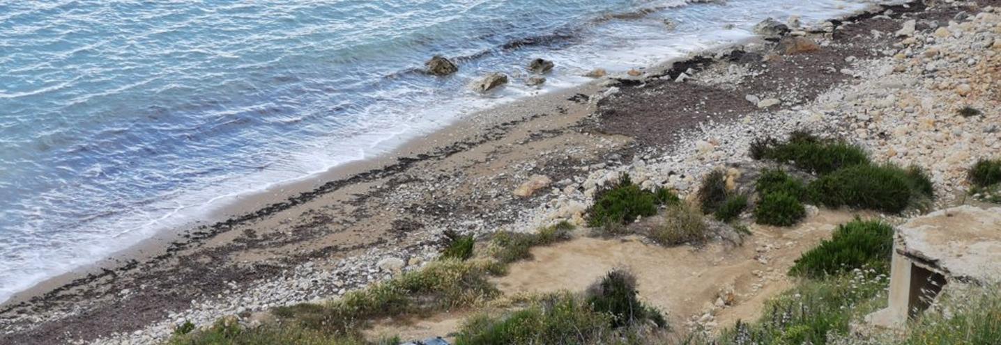 MELLIEHA – IMGIEBAH BAY – Frangimento delle onde sulla battigia