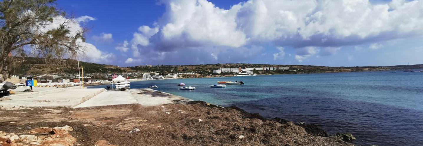 MELLIEHA – MELLIEHA BAY – La spiaggia