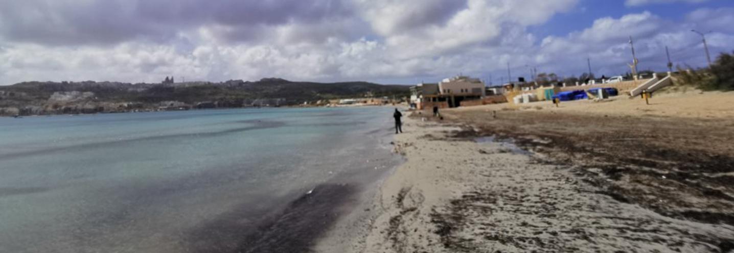 MELLIEHA – MELLIEHA BAY – Linea di riva