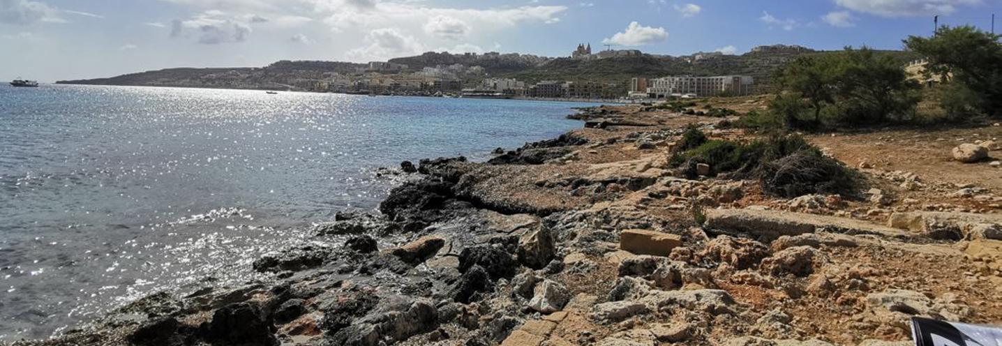 MELLIEHA – MELLIEHA BAY – Substrato sedimentario affiorante