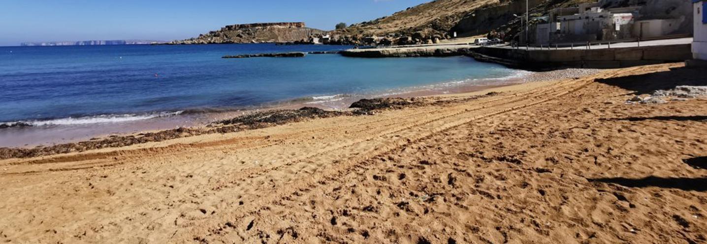 MGARR – GNEJNA BAY – Zona nord della pocket beach