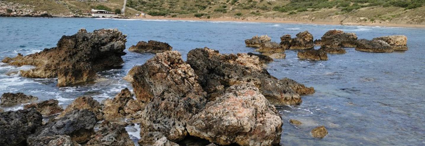 MGARR – RIVIERA BAY – Affioramenti di rocce sedimentarie