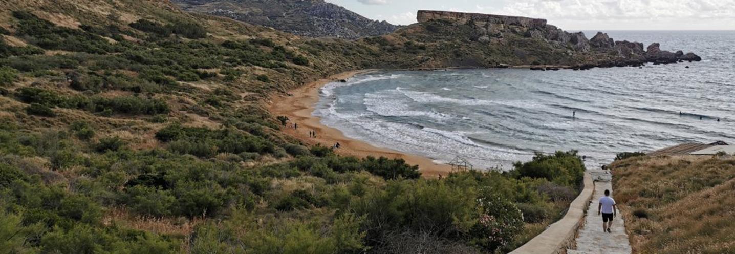 MGARR – RIVIERA BAY – Scalinata di accesso alla pocket beach