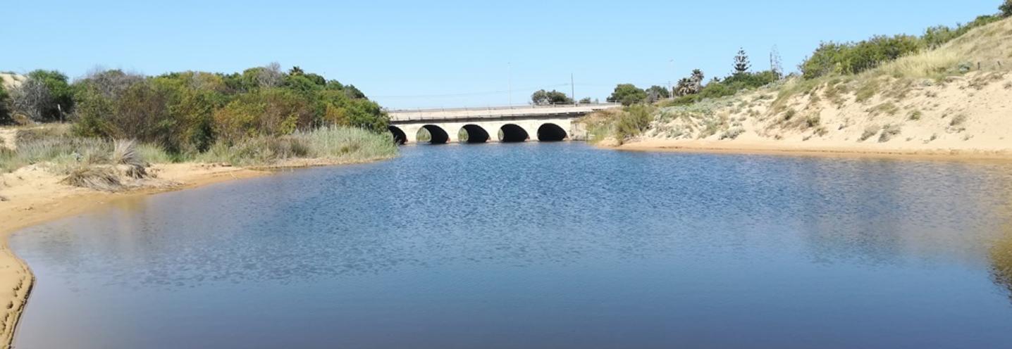 Modica – Marina di Modica – Il corso d'acqua