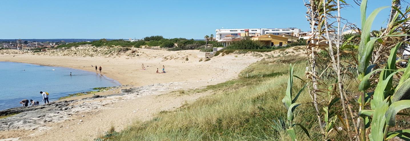 Modica – Marina di Modica – La pocket beach vista da est