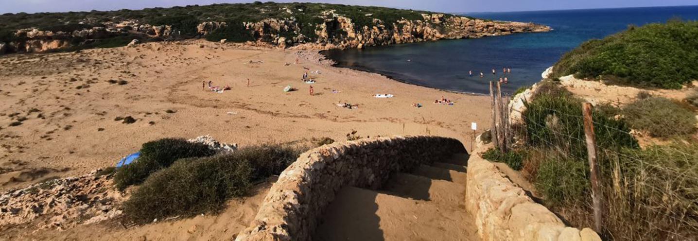 NOTO – Calamosche – Via d'accesso alla pocket beach