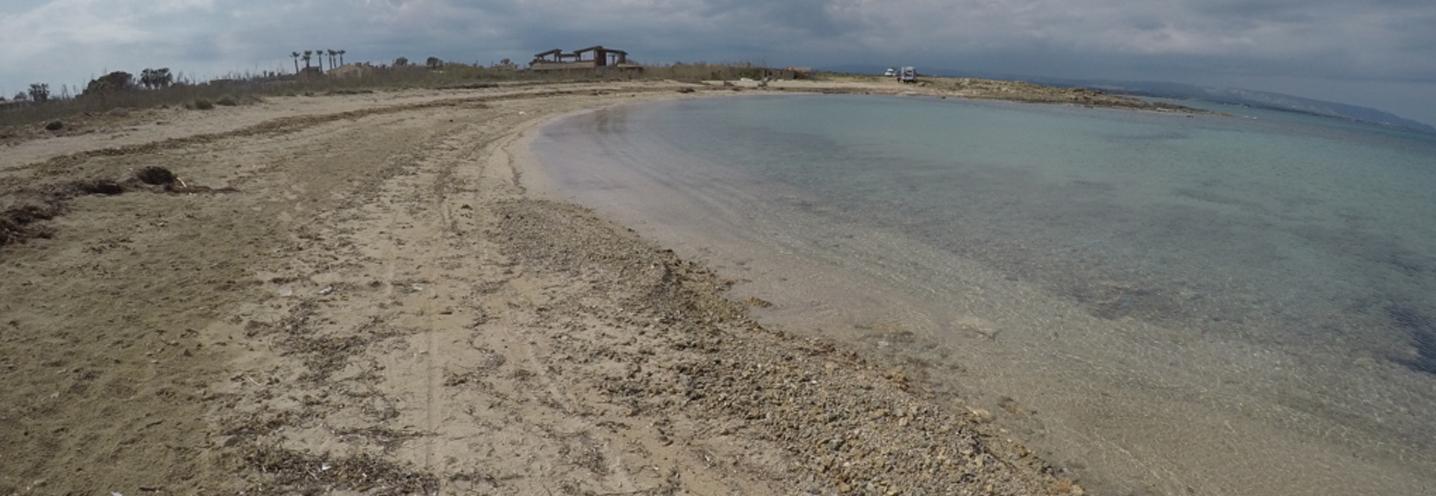 NOTO – San Lorenzo Nord – Dettaglio della spiaggia