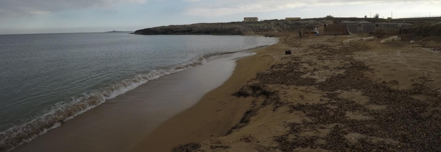 PACHINO – Grotta Calafarina – La pocket beach vista da nord
