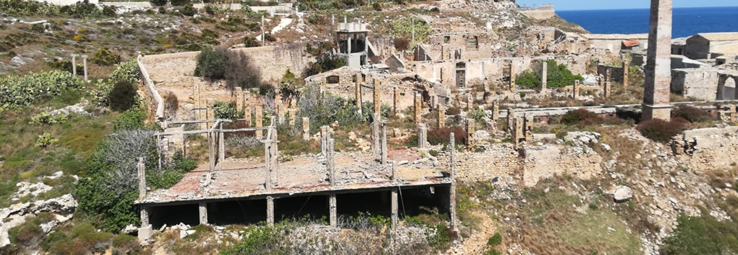 PORTOPALO DI CAPO PASSERO – Tonnara – Dettaglio delle strutture antropiche relitte