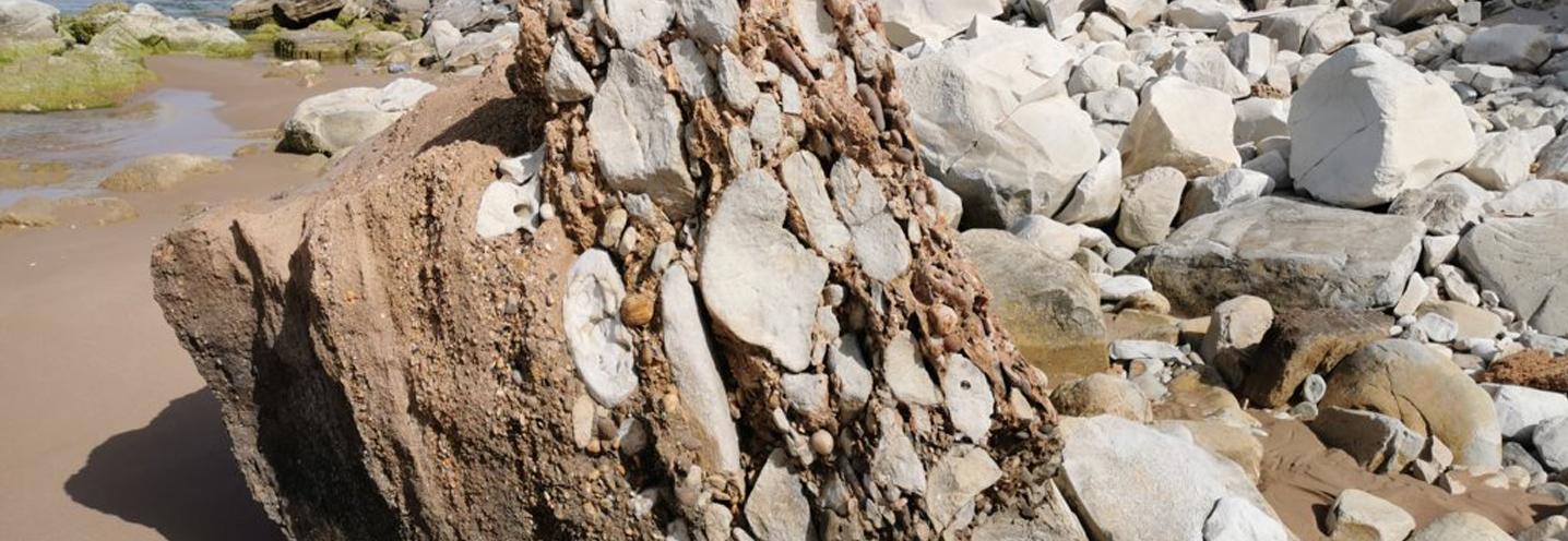 REALMOTE – SCALA DEI TURCHI CENTRO – Particolarità dell'affioramento roccioso