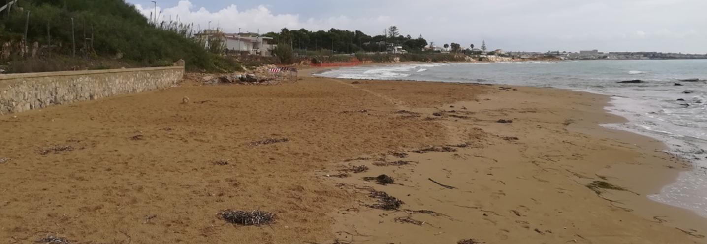 SANTA CROCE – KAUCANA – Panoramica completa della pocket beach da ovest