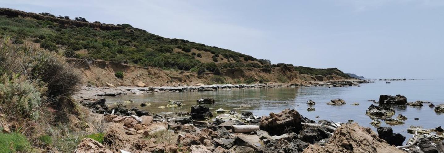 SCIACCA – MARAGANI OVEST – La pocket beach vista da nord