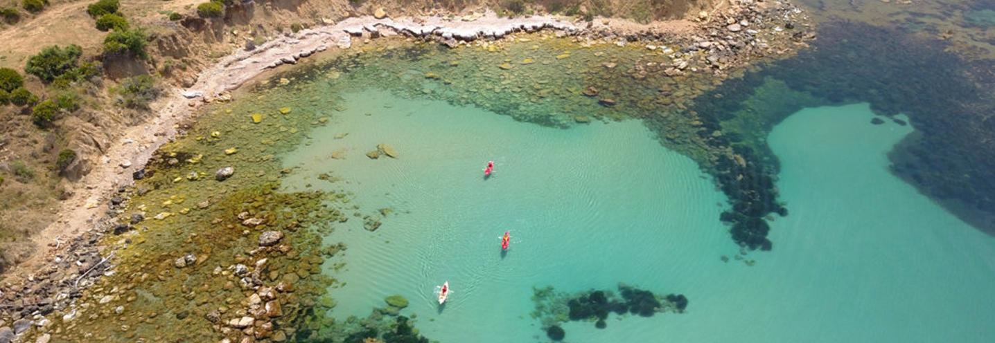 SCIACCA – MARAGANI OVEST – Pocket beach da drone