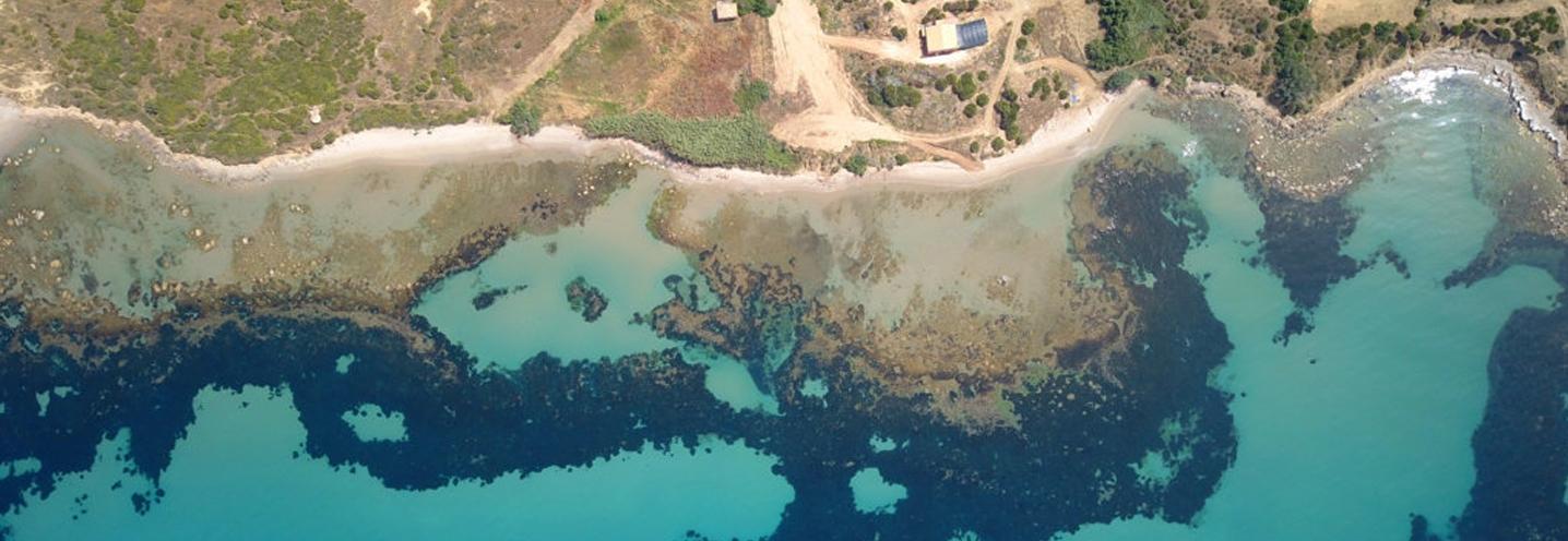 SCIACCA – MARAGANI OVEST – Pocket beach fotografata dal drone