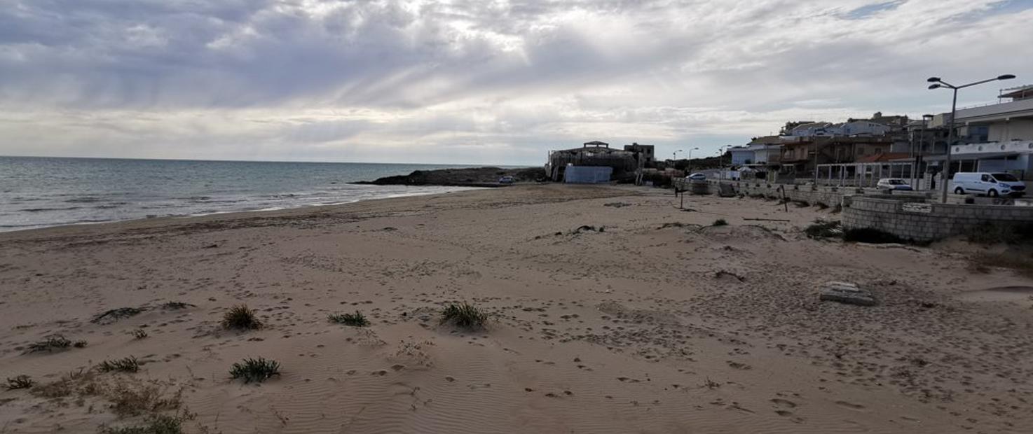 SCICLI – Cava d'Aliga – Settore occidentale della pocket beach