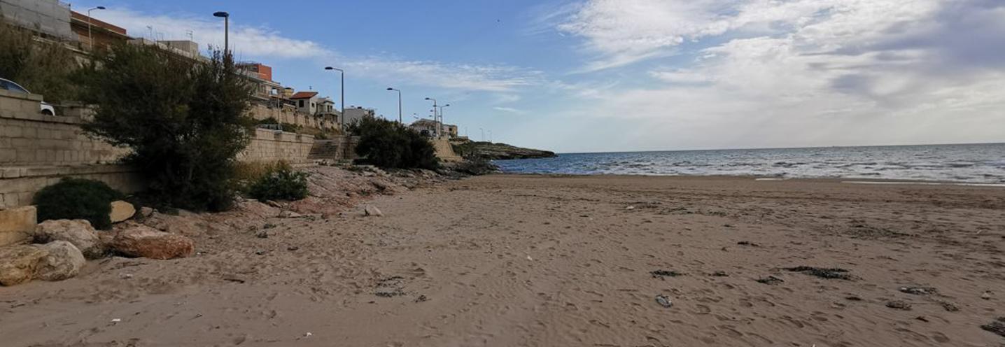 SCICLI – Cava d'Aliga – Settore orientale della pocket beach
