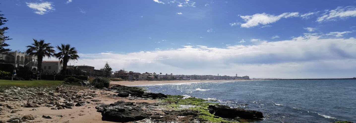 SCICLI – Donnalucata ovest porto – Pocket beach vista da Ovest