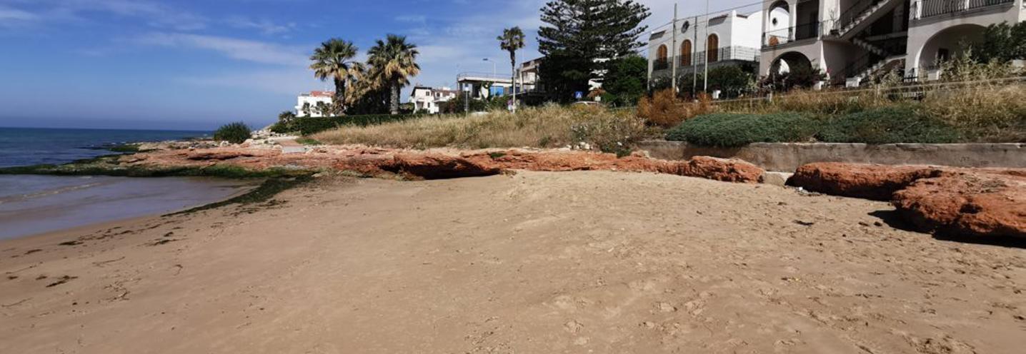 SCICLI – Donnalucata ovest porto – Settore occidentale della pocket beach