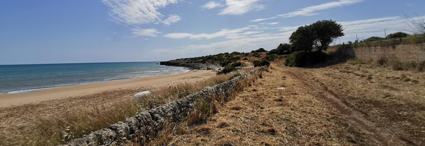 SCICLI – Sampieri Costa di Carro – Settore occidentale della pocket beach