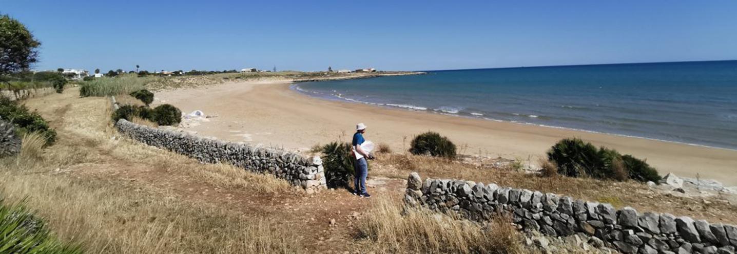 SCICLI – Sampieri Costa di Carro – Settore orientale della pocket beach
