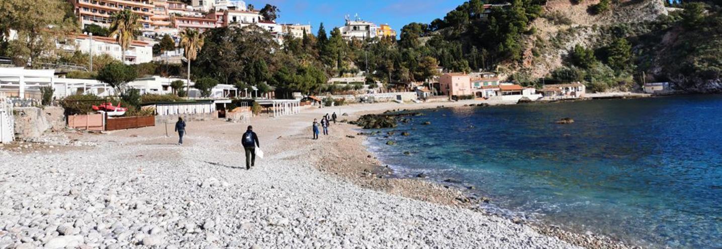 Taormina – Isola Bella nord – I colori di Isola Bella