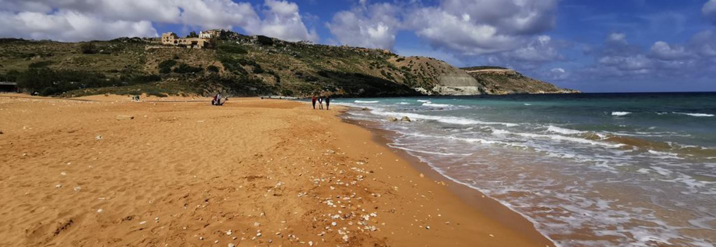 XAGHRA) – RAMLA BAY – La spiaggia dorata